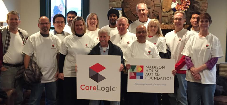 Volunteer Spotlight: CoreLogic Gives Back to Adults with Autism on #GivingTuesday